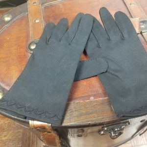 Vintage 1950's cotton gloves
